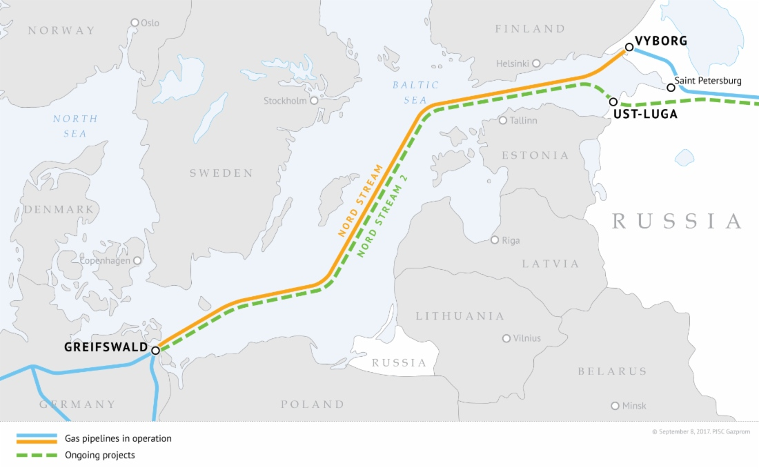 Nord Stream 2 - Sursa: Gazprom