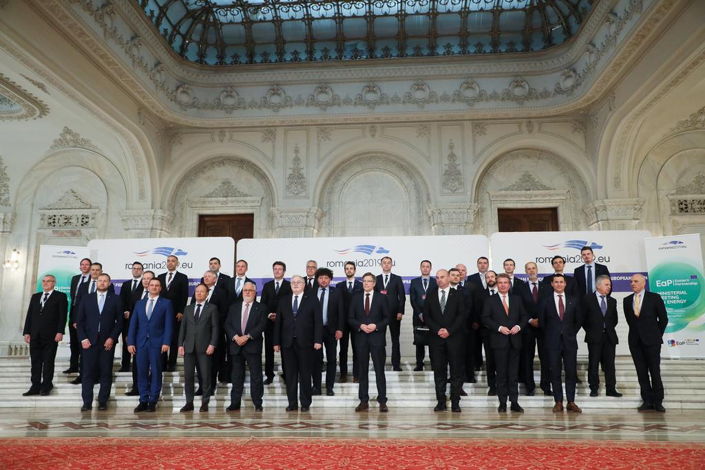 Reuniunea miniștrilor Energiei din UE la București - sursa: romania2019.eu
