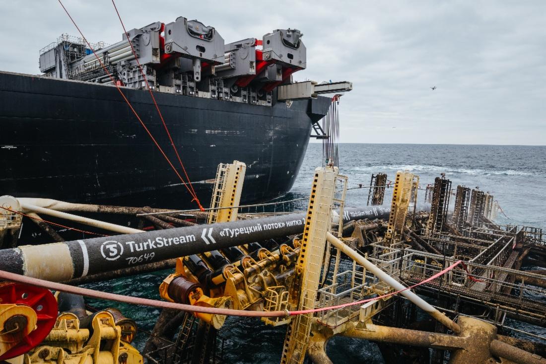 TurkStream - sursa Gazprom