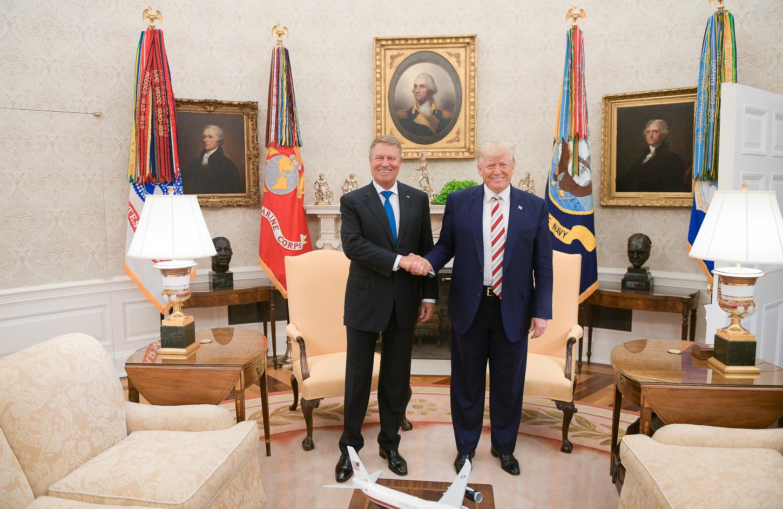 Intalnire Donald Trump - Klaus Iohannis, Casa Alba, 20 august 2019 - sursa: presidency.ro