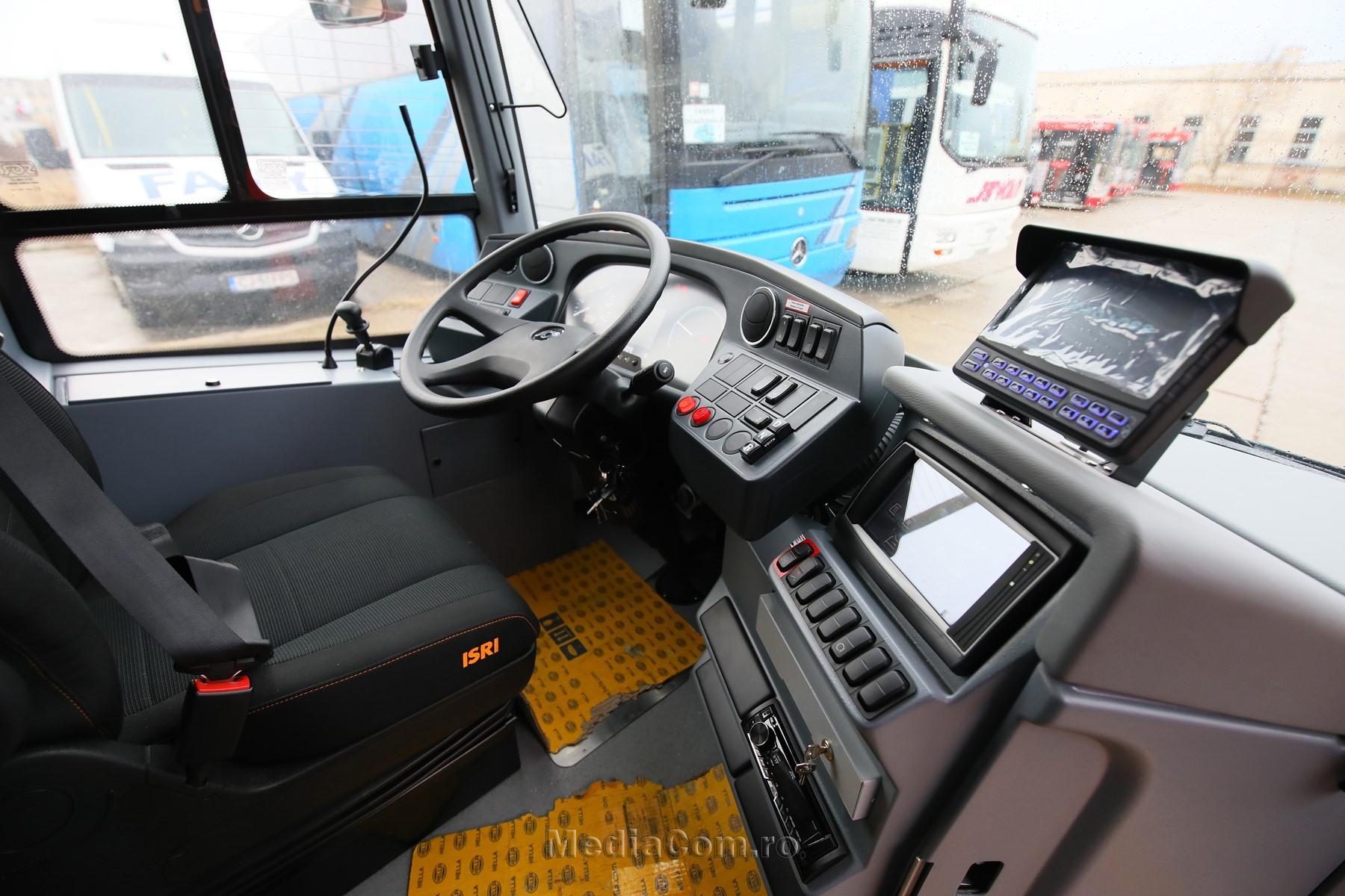 Autobuze electrice Turda - sursa: Facebook (primar Matei Cristian)