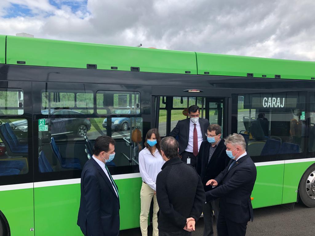 Brasov, mobilitate, autobuze electrice - sursa: Primaria Municipiului Brasov, Facebook