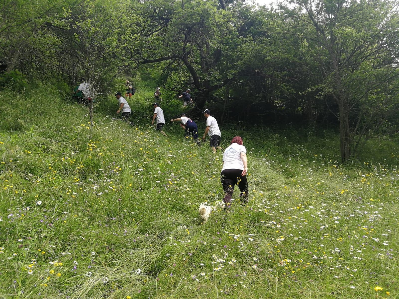 Urcușul spre locuințele izolate din Întregalde (jud. Alba) - FOTO @NewsEnergy