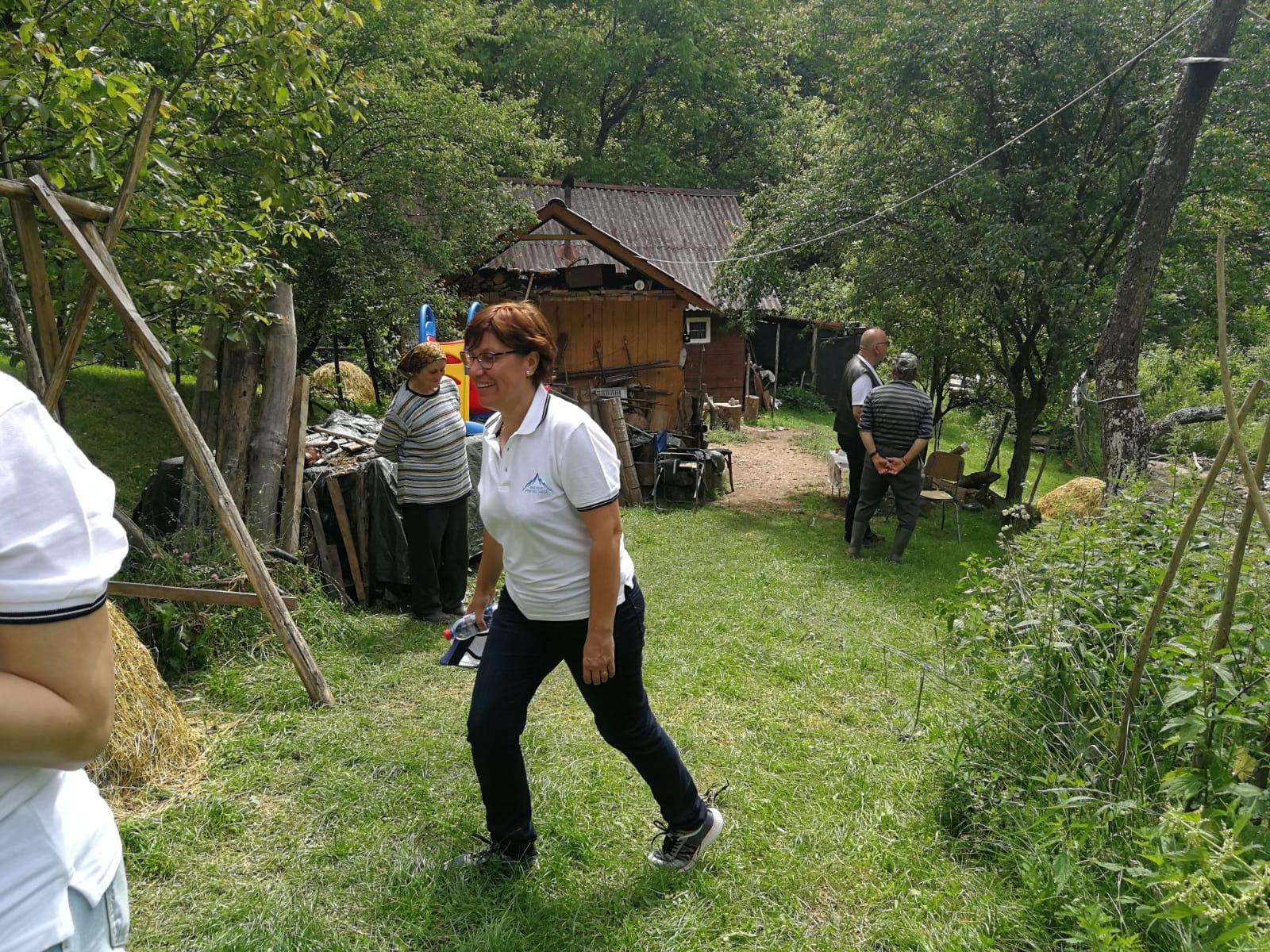 Doamna Victoria Moga, primarul comunei Întregalde (jud. Alba) - FOTO @NewsEnergy