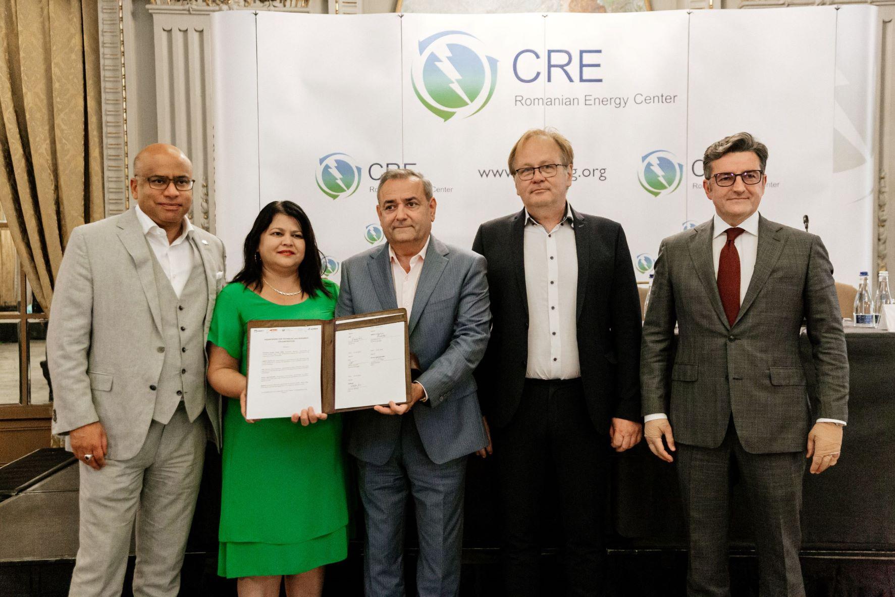 CRE, semnate acord cercetare hidrogen