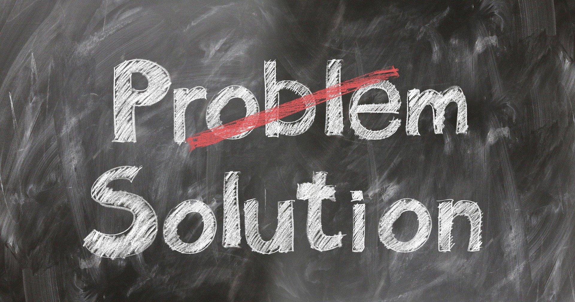 probleme, solutii - sursa: Pixabay
